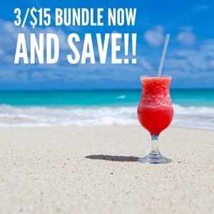 Other - 🌺🍹🌟 3/$15 SALE 🌟🍹🌺